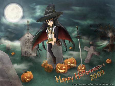 happy halloween 2009 -Shana-
